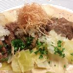 料理や こうしゅう庵 - ワインビーフほほ肉柔から煮