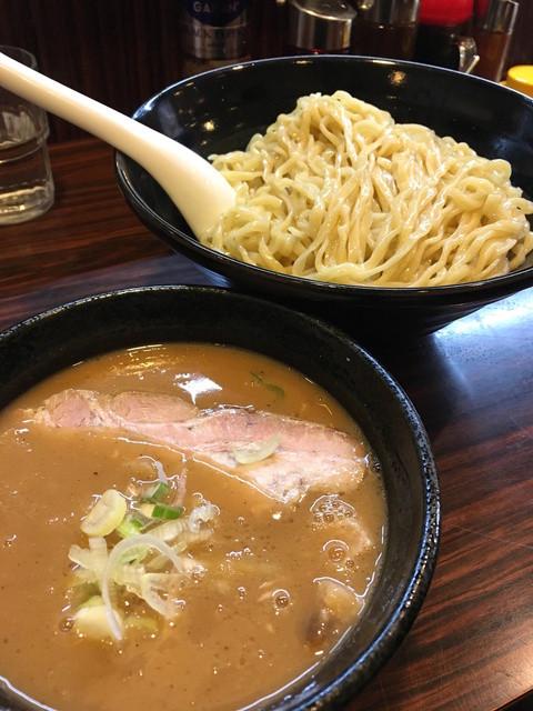 ラーメン長山 - 魚介つけ麺2玉(780円)