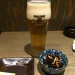 なむさん - ひじきのお通し,100円也