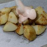 お好み焼き田よし・雫 - 定番ジャガバターに明太マヨのせ