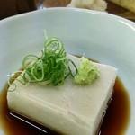 一心庵 - 蕎麦豆腐