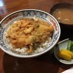 天ぷら 住友 - かきあげ丼690円