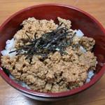 月うさぎ - セットミニ鶏そぼろ丼