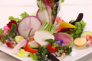 ギンサイ プラス - 有機野菜の盛り合わせ