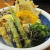 うどん満月 - 料理写真:野菜天ぶっかけ