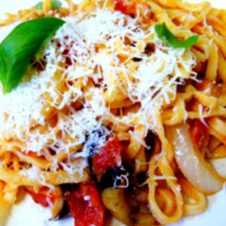 風雅 - 料理写真:トマトソース 野菜・ベーコン・チーズ