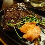 肉バルキッチン - ☆肉厚な牛ハラミステーキ(●^o^●)☆