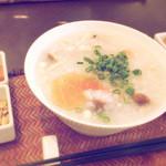 香港スイーツ ZEN 采蝶軒 - 鶏肉粥