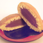 49757687 - どら焼き 紫芋