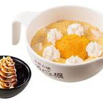 道とん堀 - お子様かぼちゃパンケーキ