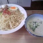 うぜん - 鶏塩ポタージュつけ麺(大)