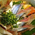 扇寿司 - さんま丼♪