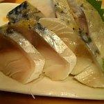 扇寿司 - トロさば♪