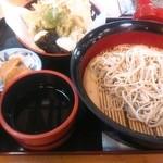 49760048 - 野菜天ぷら付十割