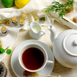 3 Little Eggs - ドリンク写真:紅茶は10種類、ハーブティーは9種類取り揃えております♪