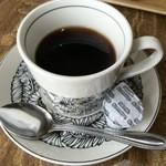 All days cafe - ランチについているドリンクのホットコーヒー