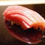 鮨 麻葉 - 鮪中トロ