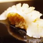 鮨 麻葉 - ミル貝