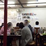 重松飯店 - お昼過ぎなのにお客で一杯でした。