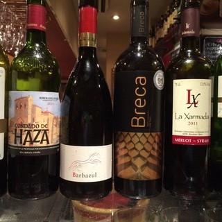 ハイレベルなグラスワインの数々!