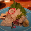ひなの - 料理写真:☆【ひなの】さん…お造りは鰈&肝(≧▽≦)/~♡☆
