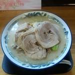 麺屋 恵 - とんこつピリ辛ネギ味噌ラーメン