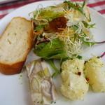 カン バッシー - フィデウアの前菜