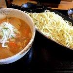 麺屋ぱんどら - 料理写真:豚ばら味噌つけ麺!