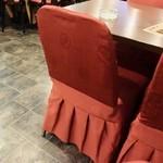 金福来 - 赤い椅子カバー