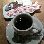 うなぎ処 柳川屋 - 食後のコーヒー