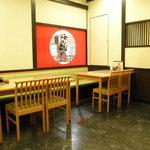 秋田比内や - 店内は落ち着いた雰囲気です
