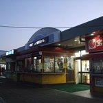 古賀サービスエリア(下り線) スナックコーナー - 施設外観その2です。