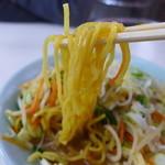 まこと食堂 - 黄金の中華麺。プリプリです!