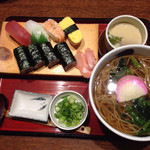 49771237 - 握り寿司定食