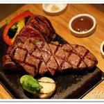 49771693 - 知多牛の霜降り肉グリル 100g / 知多牛の赤身肉のグリル 100g