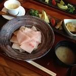 き八 - 生メカジキのちらし寿司御膳
