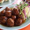 王味 - 料理写真:肉だんごの甘酢かけ