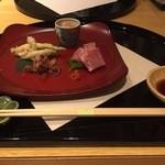 咲膳 横井 - 前菜4品