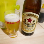 そらや - 瓶ビール、赤星