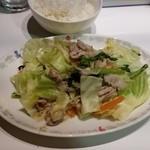 森さん家 - 気まぐれ定食…野菜炒め