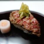 Nishimurayahonkan - 但馬牛炙りの握り寿司