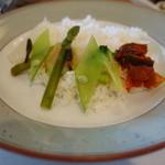 Bisutorofuraipan - カレーのご飯