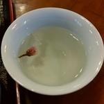 魚要 - 桜湯です♪