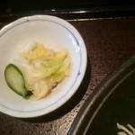富山豚食堂 かつたま - 漬け物