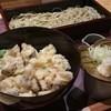 大木戸矢部 - 料理写真:かき揚げ丼とおそばのセット