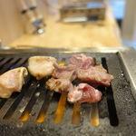 立喰い焼肉 治郎丸 - ロースター