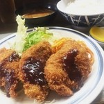 ベル - 豚ヘレカツ定食