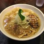 Fufutei - 「鶏海老ワンタン麺 塩」930円