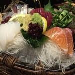 49790093 - 四十八漁場 調布店・鮮魚盛り合わせ