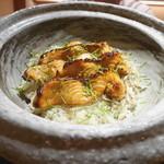 豪龍久保 - 桜鱒(青森)の炊き込みご飯